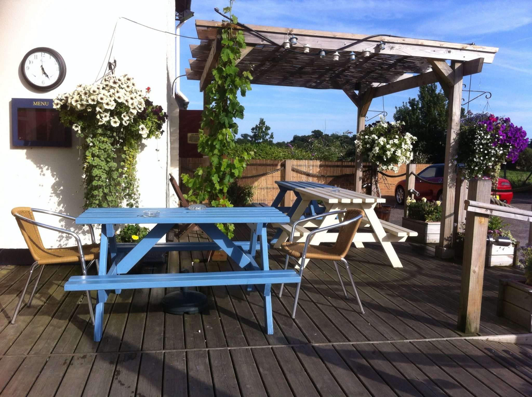 The Westerfield Railway - Decking Area